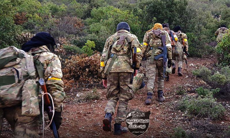 """عناصر من """"الجيش الحر"""" في عفرين - 24 كانون الثاني 2018(الفرقة التاسعة)"""