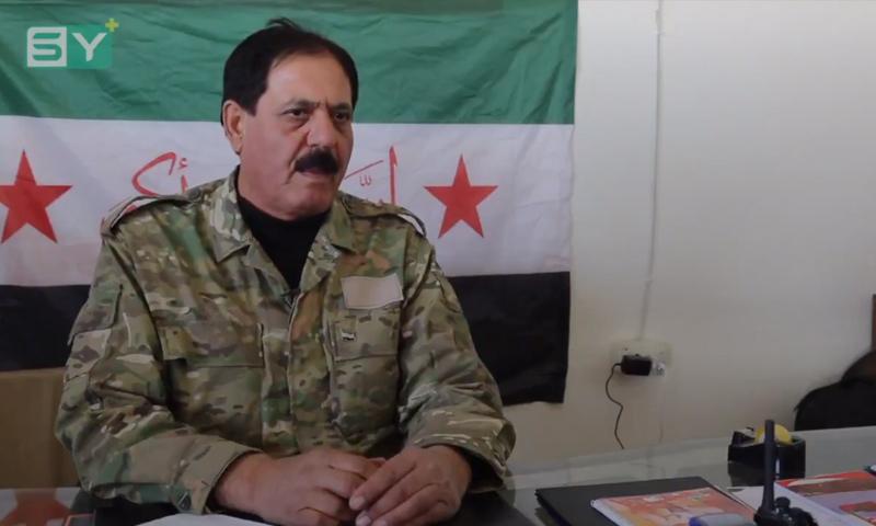 """العقيد في """"الجيش الحر"""" حسن الأحمد - كانون الأول 2017 (SY+ ("""