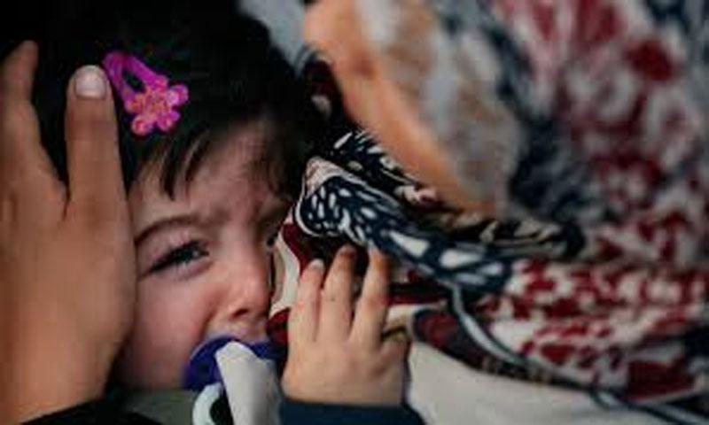 أطفال سوريون يعانون من الخوف (يوتيوب)