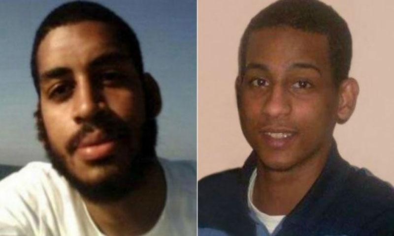 البريطانيين المعتقلين ألكسندر كوتيه والشافعي الشيخ (bbc)
