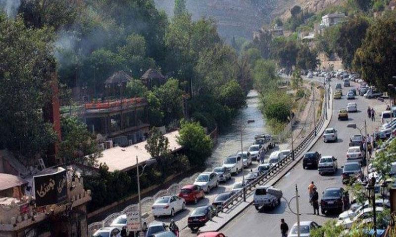 دمشق طريق الربوة (إنترنت)