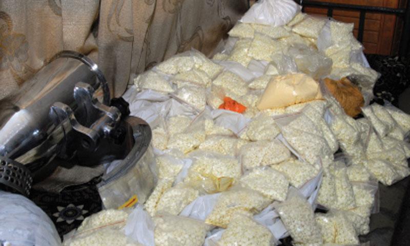 كمية من الحبوب المخدرة مضبوطة في ريف دمشق (صحيفة الوطن)