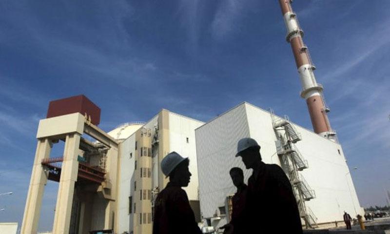 المفاعل النووي الإيراني في بوشهر 2016(رويترز)