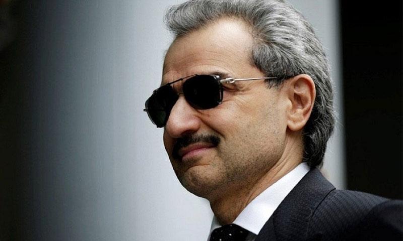 الملياردير السعودي الوليد بن طلال (إنترنت)