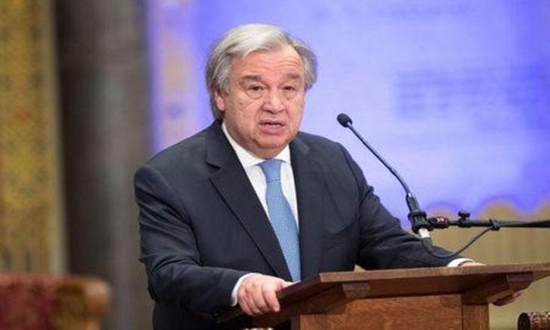 الأمين عام الأمم المتحدة أنطونيو جوتيريش في 21 ديسمبر كانون الأول 2017(رويترز).