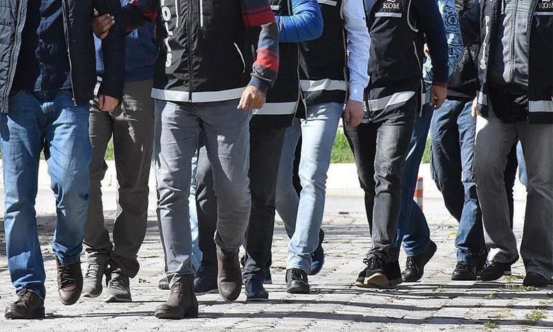 الأمن التركي في حملة اعتقالات (الأناضول)