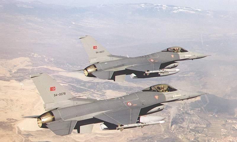 طائرات تركية في طلعة تدريبية جنوب تركيا - (انترنت)