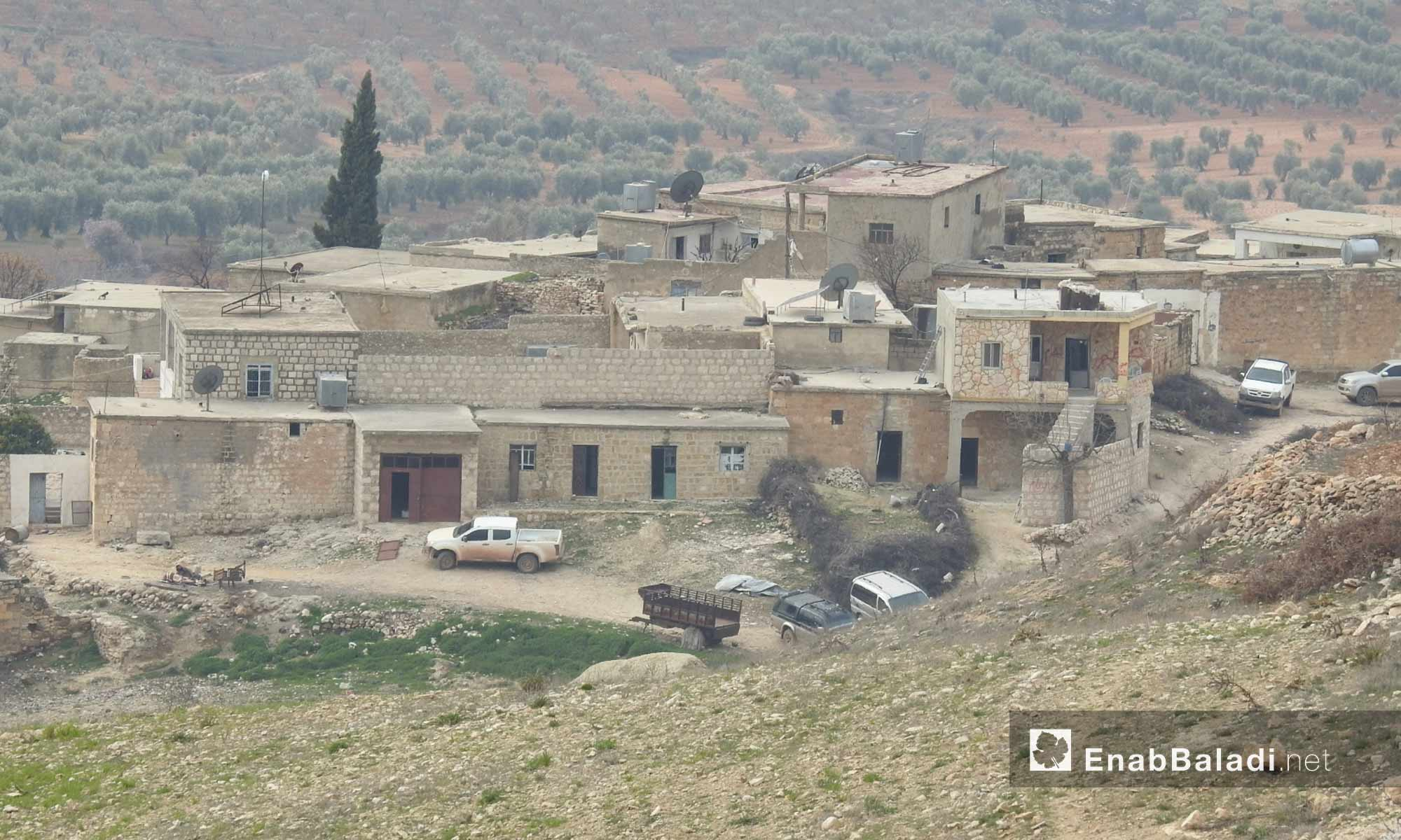 المعارك الدائرة على محور شران شمالي عفرين - 20 شباط 2018 (عنب بلدي)