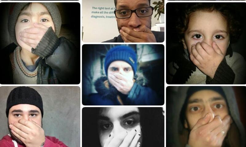 حملة عالمية للتنديد بالهجمات الكيماوية في سوريا (تويتر)