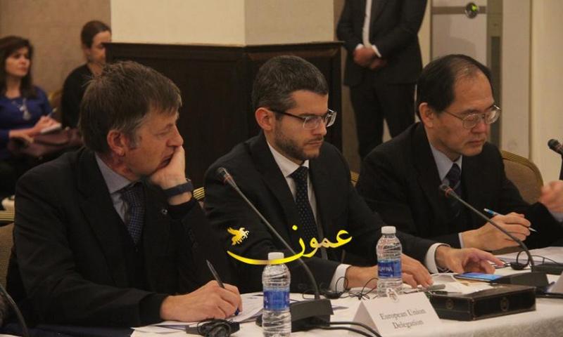الاجتماع العاشر لإطار دعم الاستجابة للأزمة السورية في الأردن - 1 شباط 2018 (عمون)