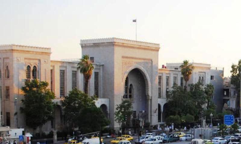 القصر العدلي بدمشق (إنترنت)