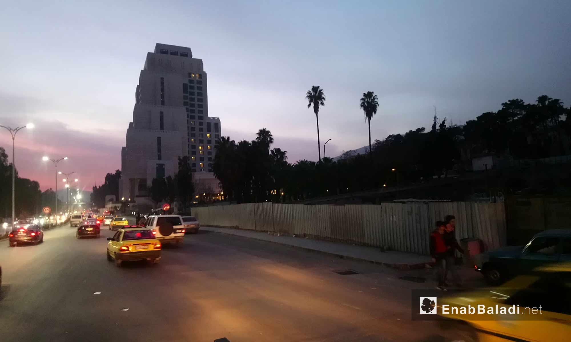 فندق فور سيزون وسط العاصمة دمشق - 4 شباط 2018 (عنب بلدي)