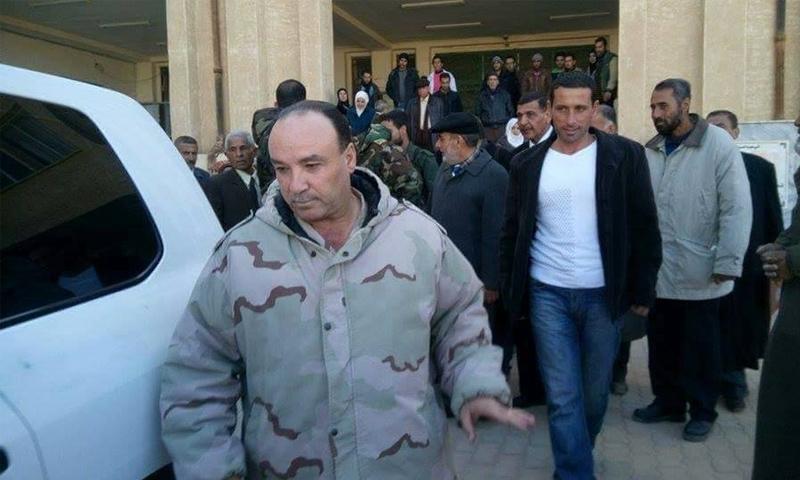 العميد جمال رزوق رئيس فرع الأمن العسكري بدير الزور (فرات بوست)
