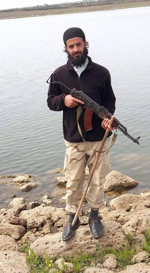 """الشرعي في """"تحرير الشام""""، يحيى القيسي (تويتر)"""