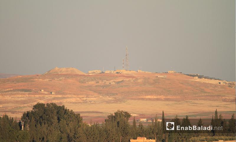 تلة العيس في ريف حلب الجنوبي - أرشيفية (عنب بلدي)