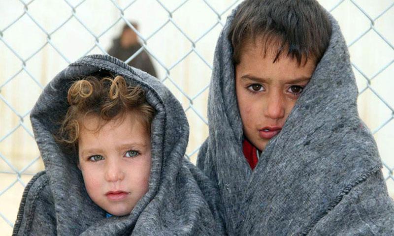 معاناة اللاجئين السوريين (mbc)