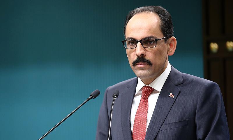 الناطق باسم الرئاسة التركية إبراهيم قالن (الأناضول)
