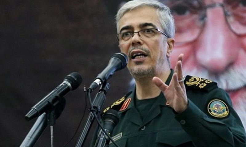 رئيس الأركان العامة للقوات المسلحة الإيرانية اللواء محمد باقري - (انترنت)