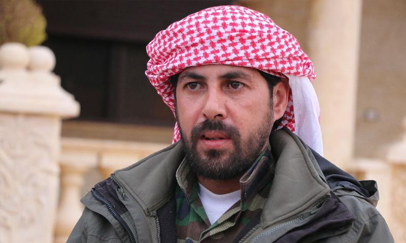 القيادي في جيش إدلب الحر حماد الشايش - (فيس بوك)