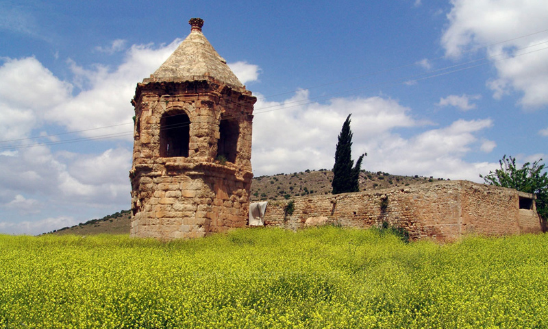 قلعة النبي هوري في عفرين - (انترنت)