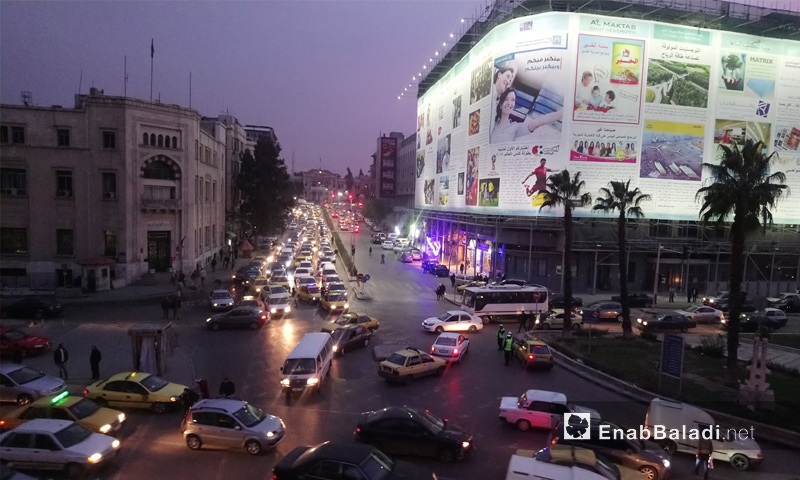 فندق سميرا ميس في منطقة المرجة وسط العاصمة دمشق - 4 شباط 2018 (عنب بلدي)