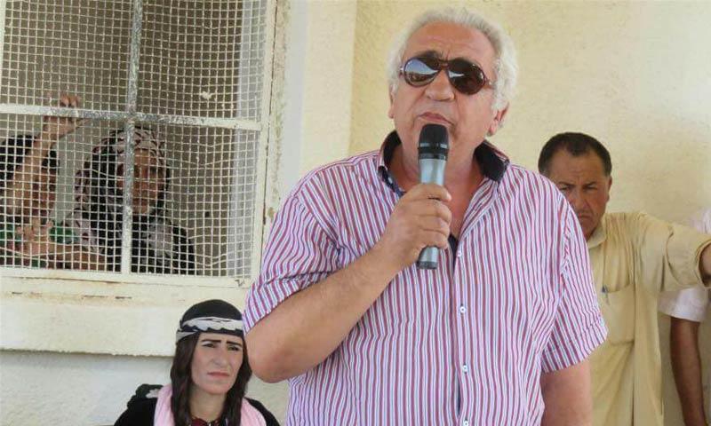 الرئيس المشترك لمجلس الرقة المدني، عمر علوش (فيس بوك)