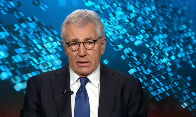 وزير الدفاع الأمريكي السابق، تشاك هاغل (CNN)