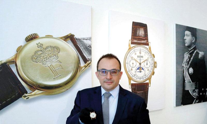 ساعة الملك فاروق في دار كريستيز (صحيفة العرب)