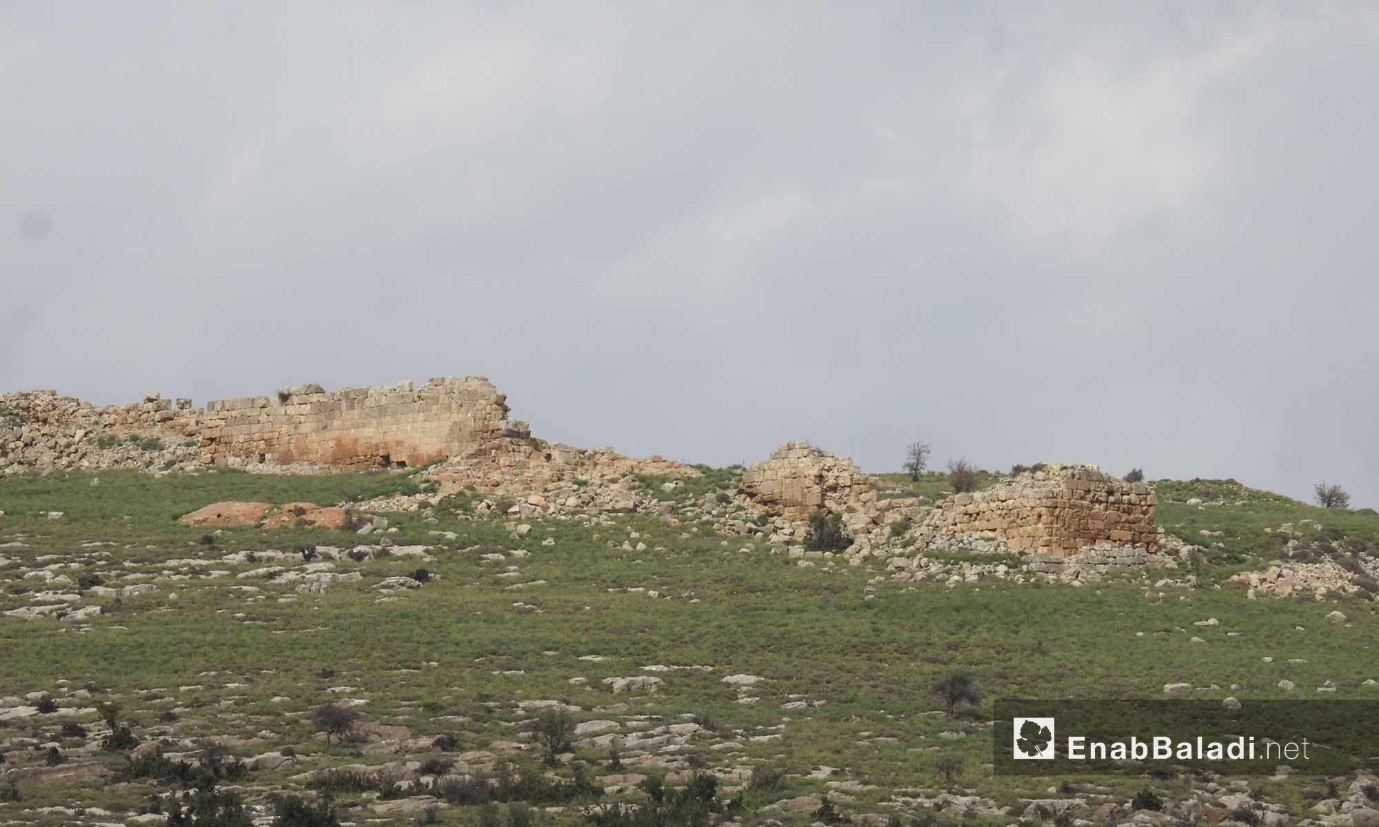 مقام النبي هوري الأثري شمالي منطقة عفرين - 2 آذار 2018 (عنب بلدي)