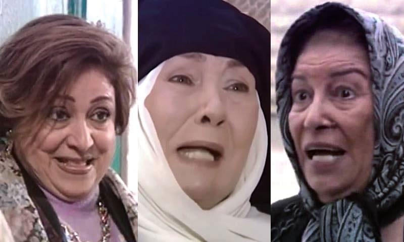 ممثلات سوريات في دور الأم (تعديل عنب بلدي)