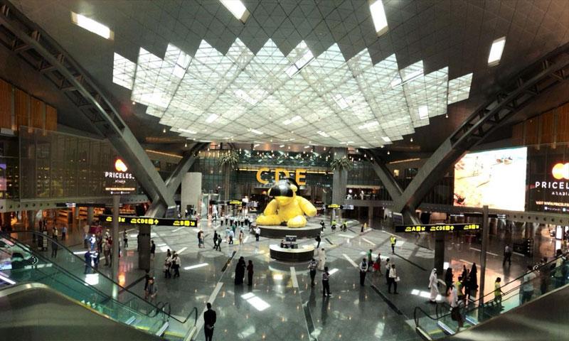 """مطار """"حمد"""" في الدوحة (الخليج أونلاين)"""