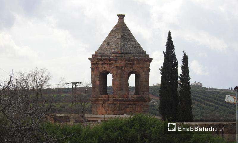 مقام النبي هوري الأثري في محيط منطقة عفرين - 2 آذار 2018 (عنب بلدي)