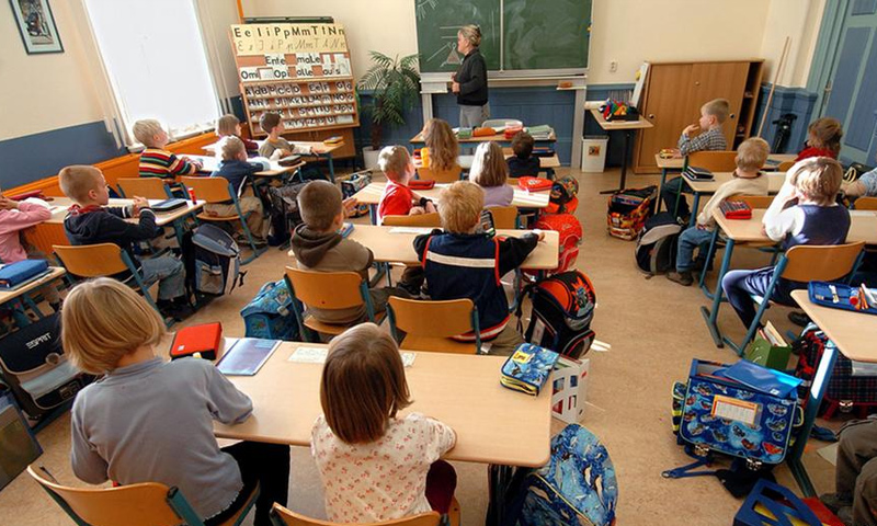 مدرسة ابتدائية في فرنسا (DPA)