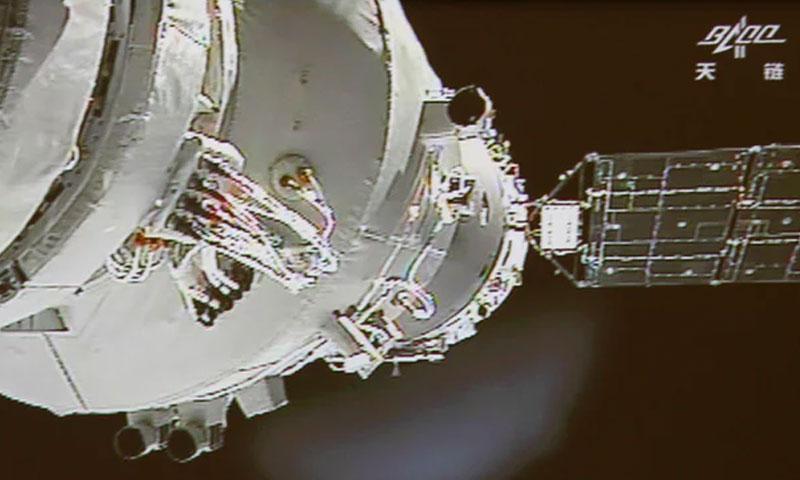 من المنتظر وصول حطام المركبة الفضائية إلى الأرض خلال الأسبوع (AP)