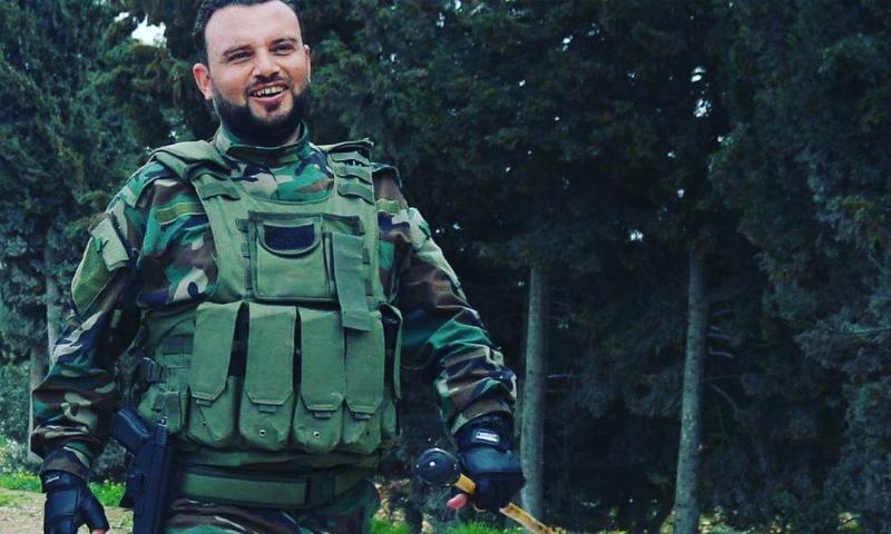 قائد الفيلق الأول في الجيش الوطني وائل الموسى - (فيس بوك)