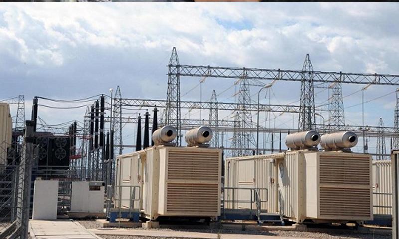 محطة تحويل الكهرباء في مدينة تدمر - (انترنت)