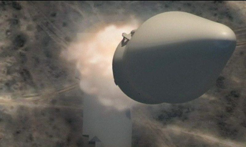 الصاروخ الروسي العابر للقارات (رويترز)