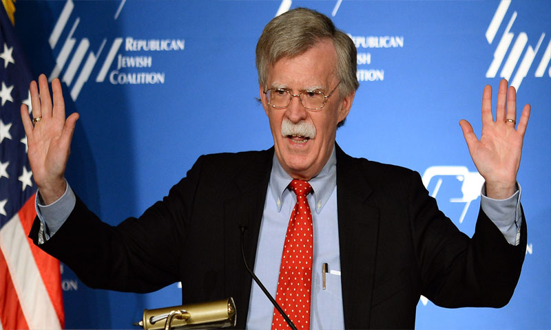 جون بولتون (AFP)