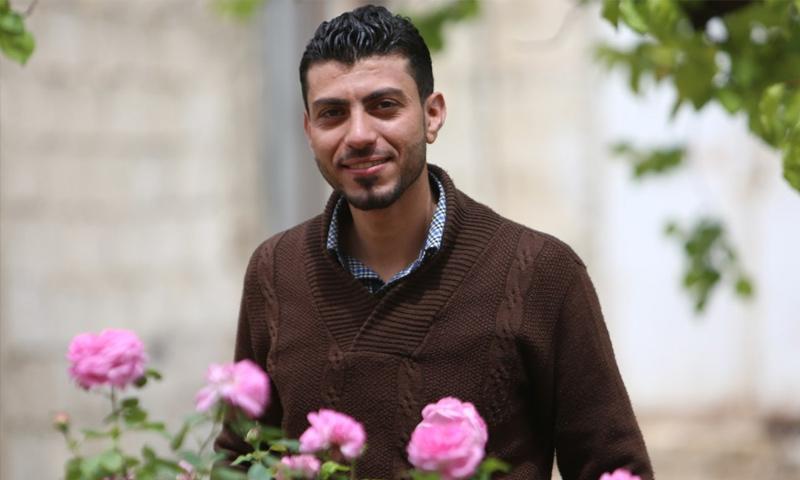 الناشط الإعلامي أحمد حمدان - (فيس بوك)