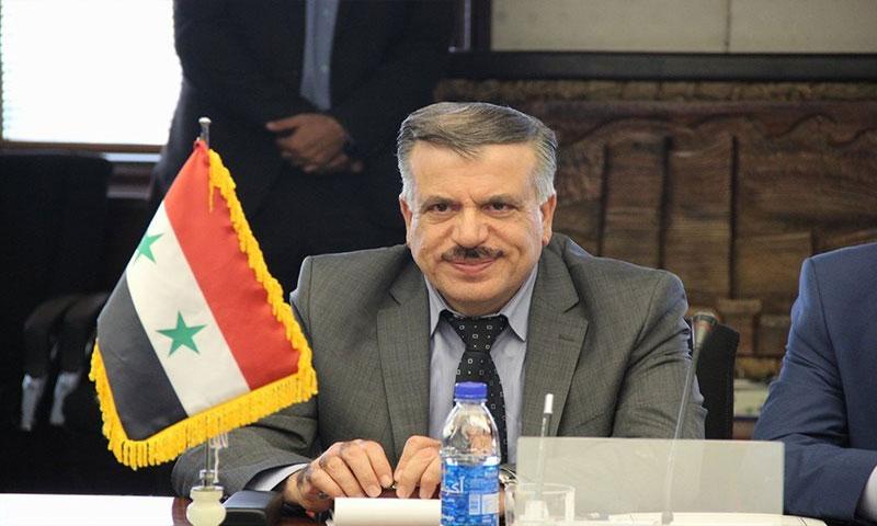وزير الكهرباء محمد زهير خربوطلي (الوطن أونلاين)