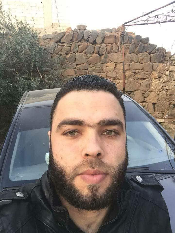 """قائد لواء """"محمد بن عبد الله""""، فادي الباعوني (تويتر)"""