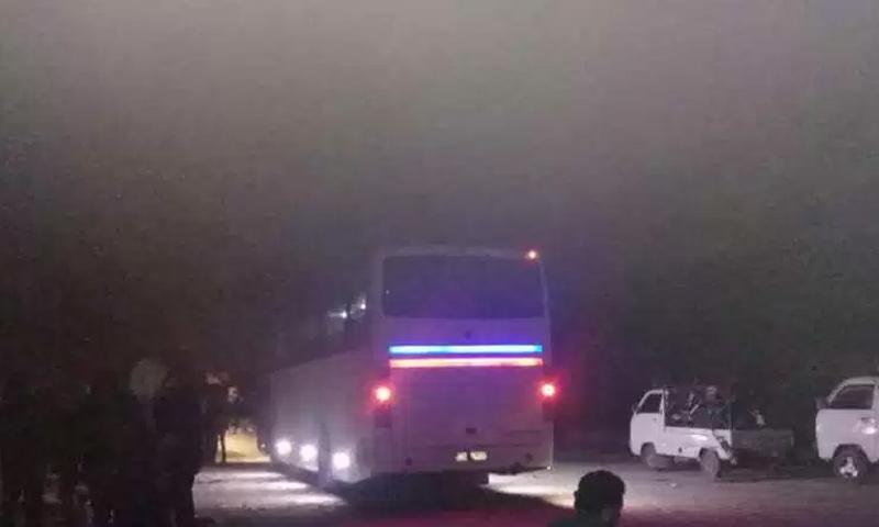 حافلات تقل أهالي حي القدم إلى الشمال السوري - 12 آذار 2018 (ربيع ثورة)