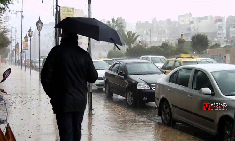 الأمطار في اللاذقية (vedeng news)