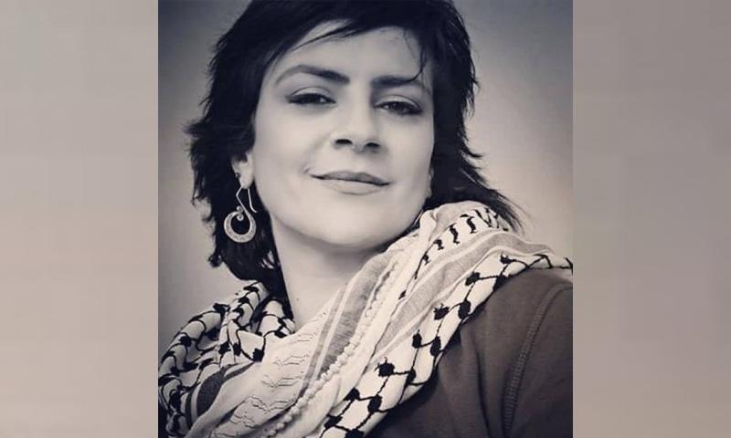 الفنانة الفلسطينية ريم البنا (فيس بوك)