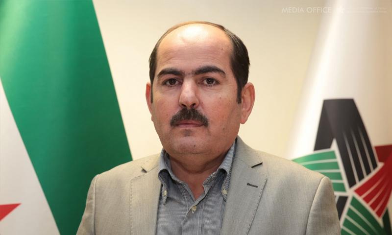 """عبد الرحمن مصطفى رئيس """"الائتلاف"""" السوري المعارض (الائتلاف)"""