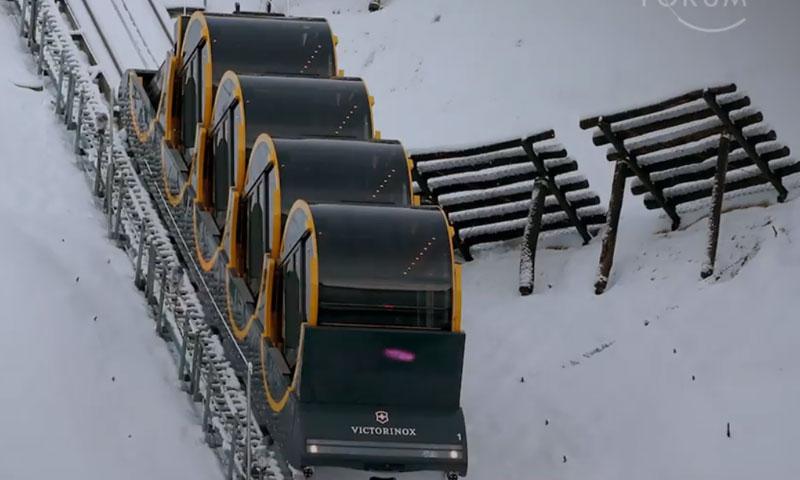 القطار سيخدم الركاب المحليين ويقدم مغامرة جديدة للسياح (weforum)
