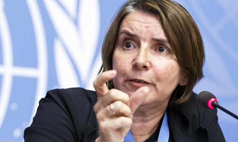 القاضية الفرنسية السابقة كاترين مارشي أوهل (انترنت)