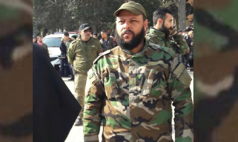 القيادي في لواء الباقر أسعد الحسين أبو كسار - (فيس بوك)