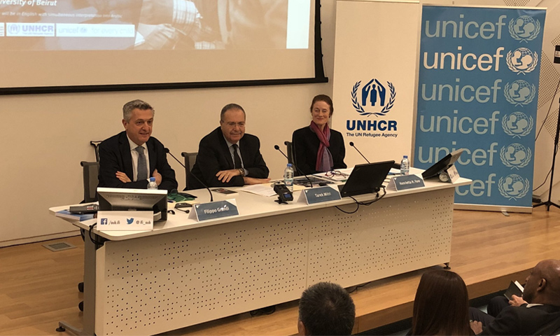 """ندوة """"الاسثمار في الشباب وقت الأزمات"""" في لبنان - 9 آذار 2018 (UNHCR)"""