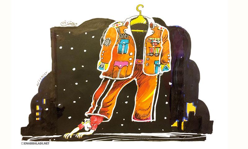 كاريكاتير علي فرزات - بشار الأسد